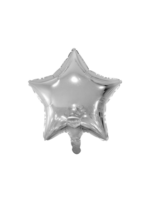 Zvaigzne, sudraba, 48 cm