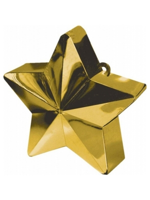 Balonu atsvars, zvaigzne, zelta, 170 g