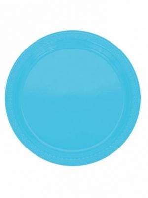 10 gab, Šķīvīši, zili, 22.8 cm
