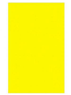Plastikāta galdauts, dzeltens, 137 x 274 cm