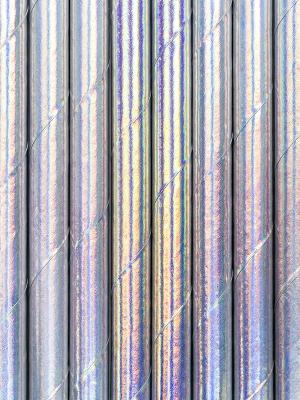 10 gab, Salmiņi, varavīksnes krāsās, 19.5 cm