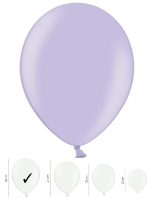 Perlamutra balons, vistērija, 30 cm