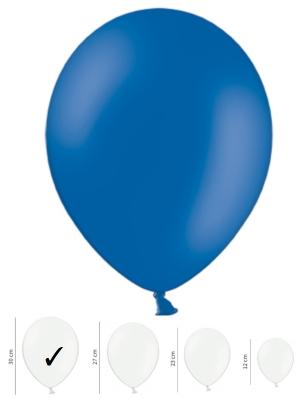 Pasteļtoņu balons, zils, 30 cm