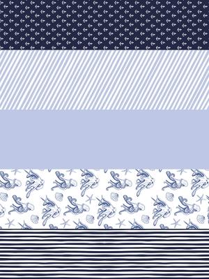 Papīrs dāvanu saiņošanai Ahoy, 68.5 x 100 cm