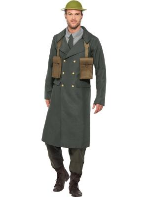 Otrā pasaules kara britu oficera kostīm