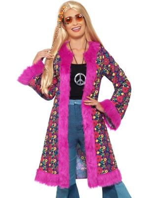 Hippiju halāts, rozā, XL izmērs