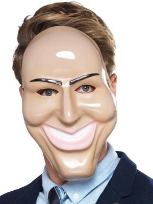 Smaidoša slepkavas maska