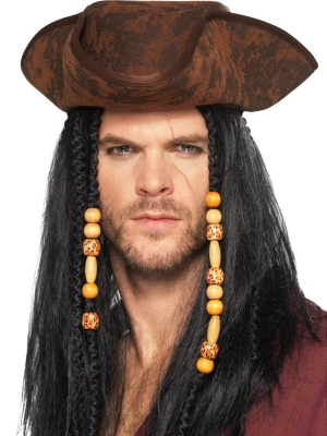 Pirāta cepure, brūna