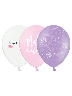Balons vienradzis,  mix, 30 cm