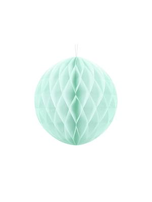 Papīra bumba, gaiša piparmētra, 30 cm