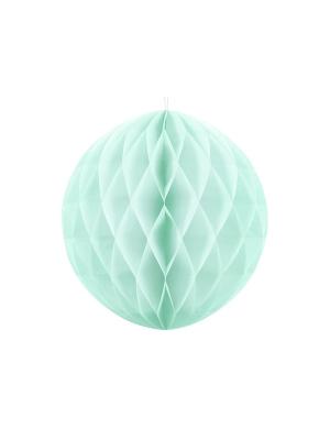 Papīra bumba, gaiša piparmētra, 40 cm