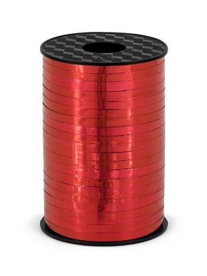 Lente sarkana, metāliska, 5 mm x 225 m