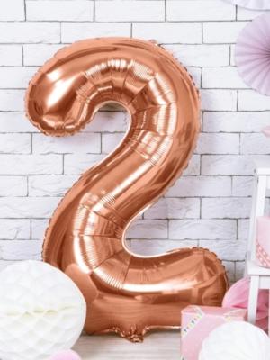 Folija, 2, rozā zelts, 86 cm