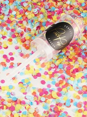 Plaukšķene Push Pop, mix, 4.8 x 18 cm
