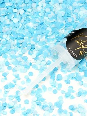 Plaukšķene Push Pop, zila un piparmētra, 4.8x 18 cm