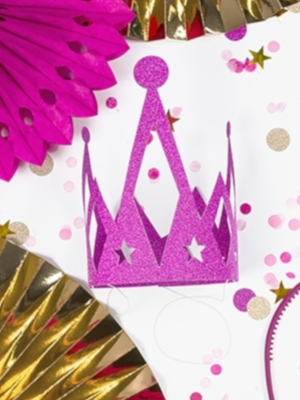Kronis Princess, tumši rozā
