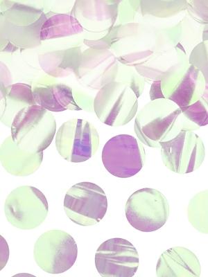 Konfetti aplīši, varavīksnes krāsās, 15 g