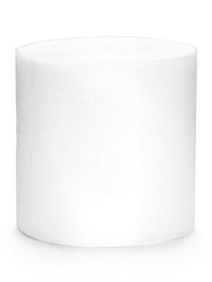 4 gab, Kreppapīra ruļļi, balti, 5 cm x 10 m