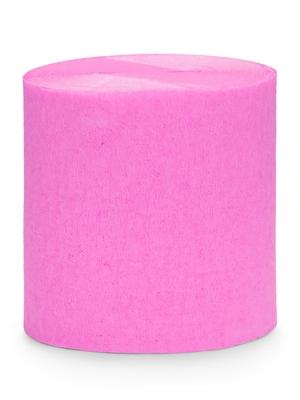 4 gab, Kreppapīra ruļļi, rozā, 5 cm x 10 m