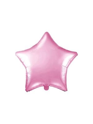 Zvaigzne, gaiši rozā, 48 cm