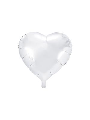 Sirds, balta, 45 cm