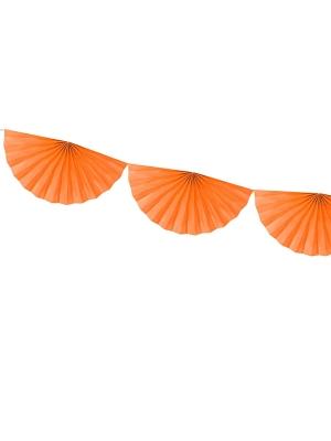 Virtene no rozetēm, oranža, 30 cm x 3 m