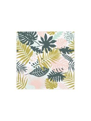 20 gab, Salvetes Aloha ar lapām, 33 x 33 cm