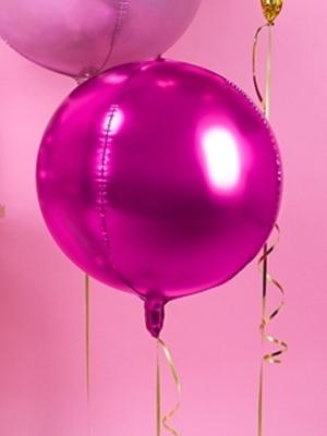 Bumba, tumši rozā, 40 cm