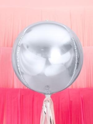 Bumba, sudraba, 40 cm