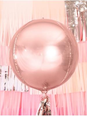 Bumba, rozā zelts, 40 cm