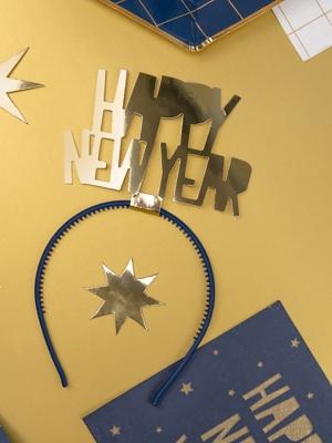 Stīpiņa Laimīgu Jauno gadu, zelta