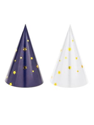 6 gab, Papīra cepures Lets Celebrate, 7.5 х 11 cm