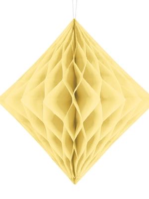 Papīra Dimants, krēmkrāsas, 30 cm