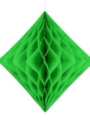 Papīra Dimants, gaiši zaļš, 30 cm