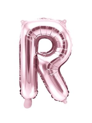 Folijas balons, R, rozā zelts, 35 cm