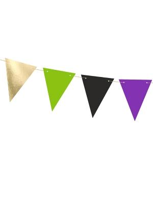 Virtene  Fokuss Pokuss- 8 karodziņi, 15 cm x 1.3 m