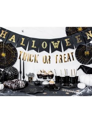 Baneris Halloween, melns, 20 x 175 cm
