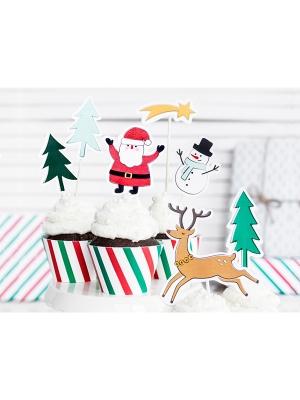 7 gab, Iesmiņi Priecīgus Ziemassvētkus, 12.5 - 18.5 cm