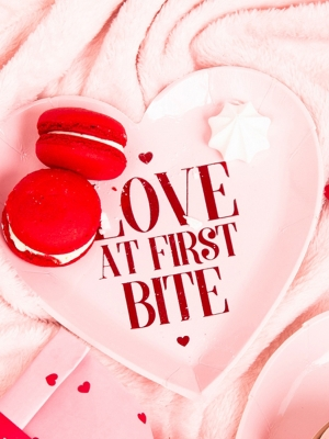6 gab, šķīvīši Love at first bite, 18.5 cm