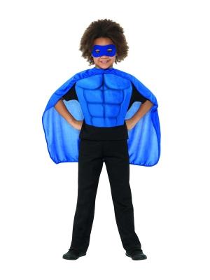 Super varoņa komplekts, zils