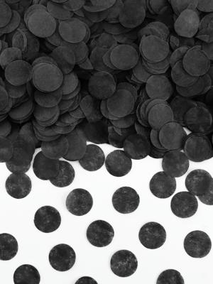 Konfeti aplīši, melni, 1.6 cm, 15 gr