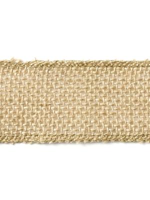 Džutas auduma lente, 4 x 500 cm