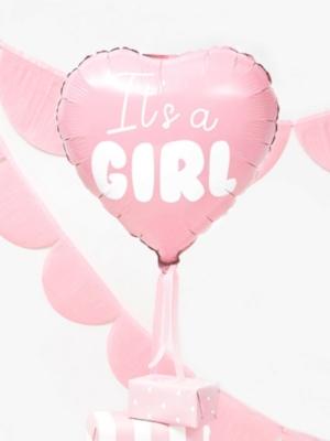 Sirds - Meitenīte,  gaiši rozā, 45 cm