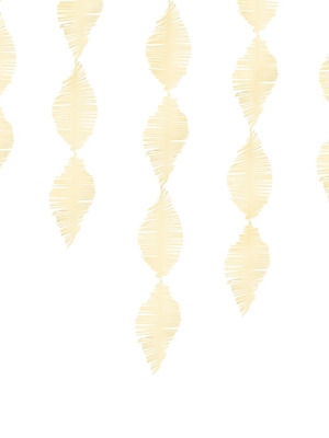 Strēmele no kreppapīra, gaiša krāmkrāsa, 15 x 300 cm