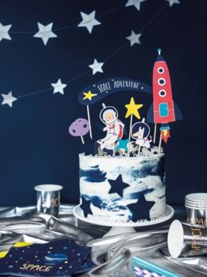 7 gab, Tortes iesmiņi Kosmoss, 9.5-24.5 cm