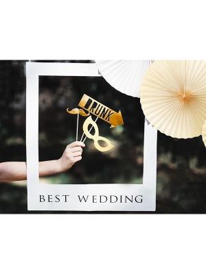 Foto rāmis Labākas kāzas, balts, 50 x 59.5 cm