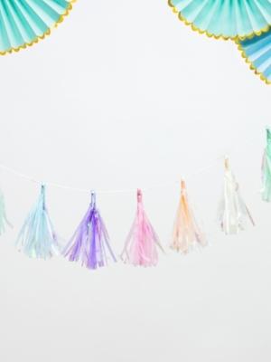 Pušķu virtene, krāsaina, 12 x 120 cm