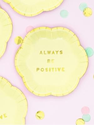 6 gab, Mini šķīvīši - Always Be Positive, 13 cm