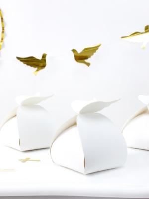10 gab, Kastīte Spārni, balta, 8.5 x 14.5 x 8.5 cm