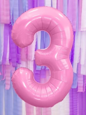 Pasteļu folija, 3, rozā, 86 cm